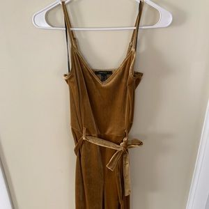 Golden Tan Valor Romper - M